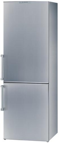 BOSCH KGV 36X40 Chladnička kombinovaná Bosch KGV36X40 - stříbrná