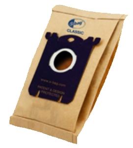 Filtr Electrolux E200 (Classic s-bag) 5ks do vysav. Clario, Excellio,Oxygen, Ultra Silencer, do vysav. mondo 6201