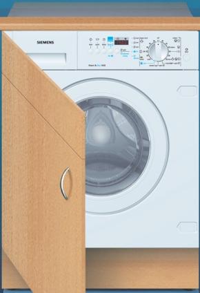 Siemens WDI 1442 EU Pračka/sušička Siemens WDI 1442 EU vestavná